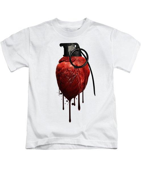 Heart Grenade Kids T-Shirt