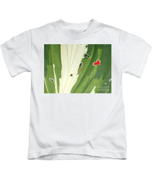 Heart In Nature Kids T-Shirt