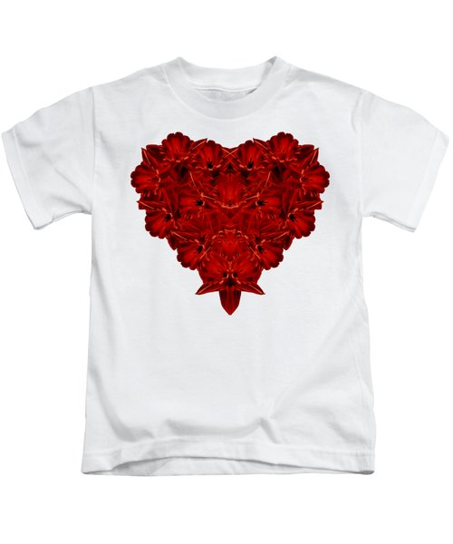 Heart Of Flowers T-shirt Kids T-Shirt
