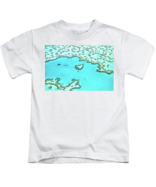 Heart Of The Reef Kids T-Shirt