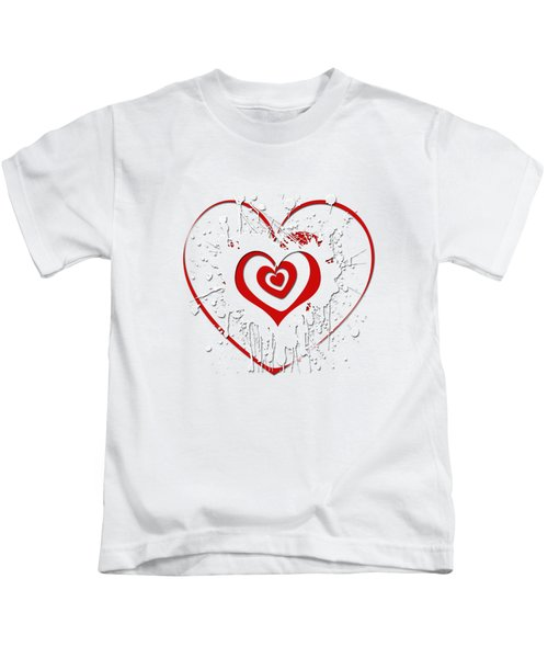 Hearts Graphic 2 Kids T-Shirt