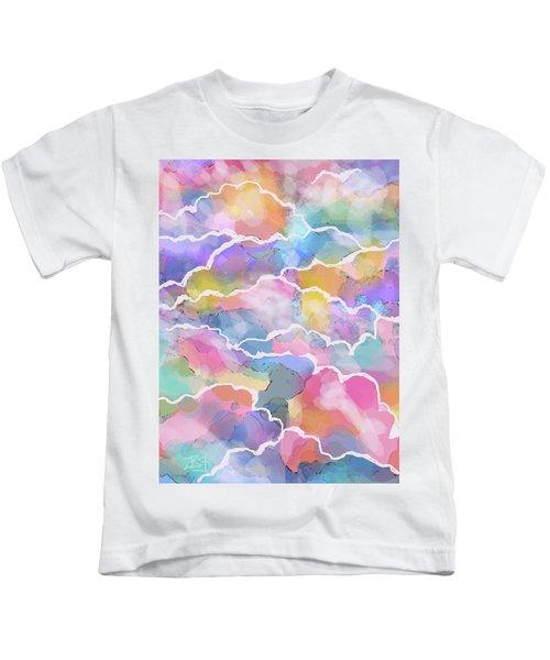 Heavenly Clouds Kids T-Shirt