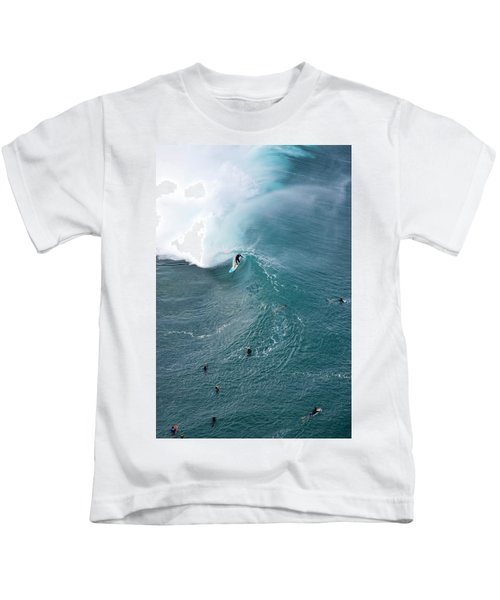 Tubed From Above. Kids T-Shirt
