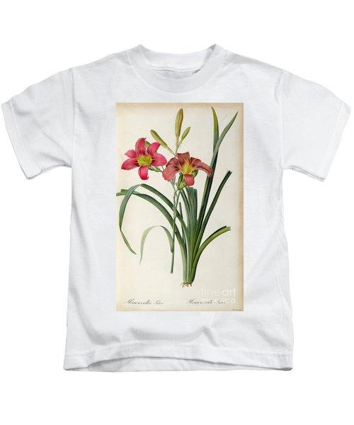 Hemerocallis Fulva Kids T-Shirt