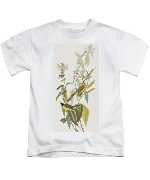 Hemlock Warbler Kids T-Shirt