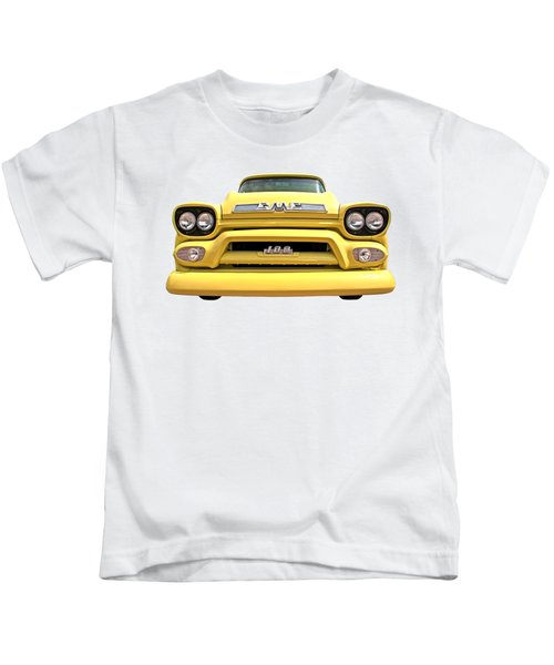 Here Comes The Sun - Gmc 100 Pickup 1958 Kids T-Shirt
