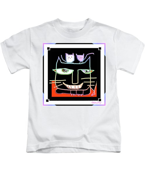Here,  Kitty Kitty Kids T-Shirt