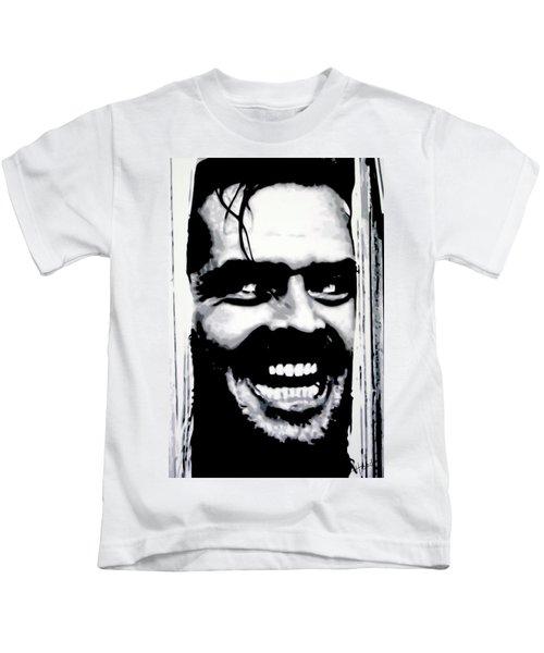 Heres Johnny Kids T-Shirt