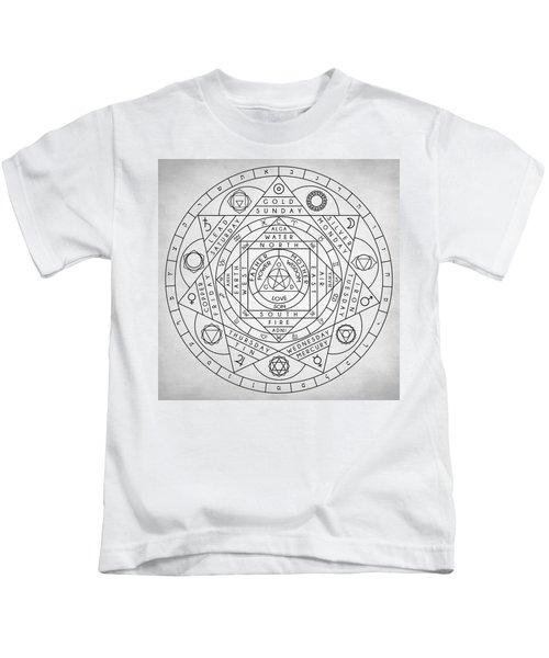 Hermetic Principles Kids T-Shirt