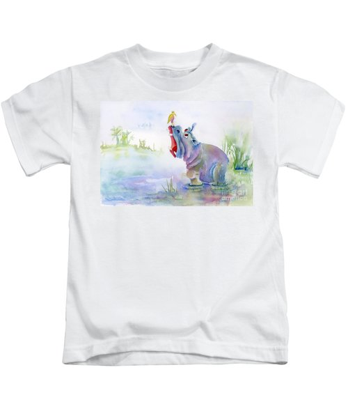 Hey Whats The Big Idea Kids T-Shirt by Amy Kirkpatrick