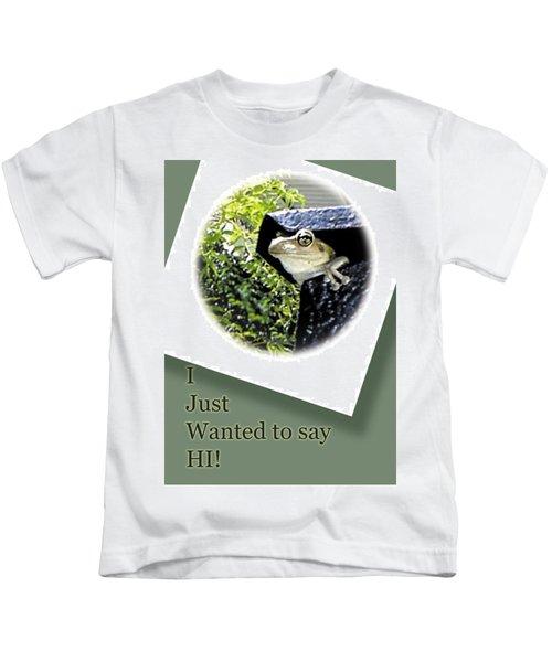 Hi There Kids T-Shirt