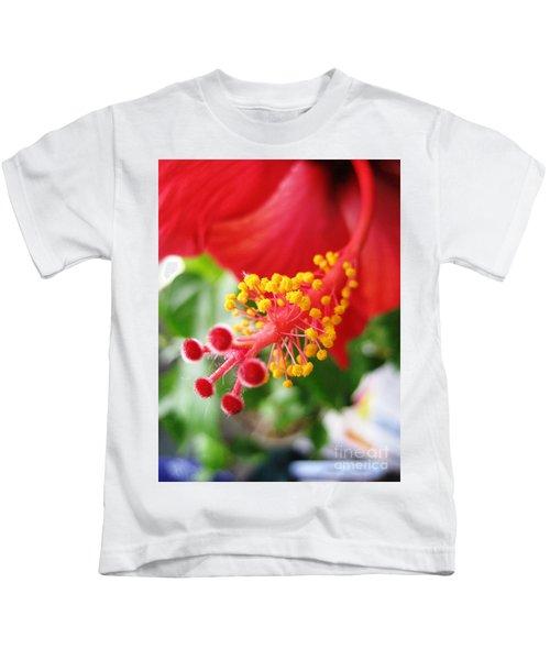Hibiscus #3 Kids T-Shirt