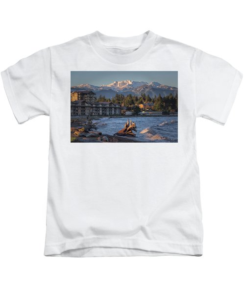 High Tide In The Bay Kids T-Shirt