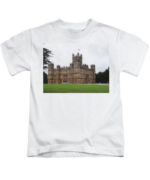 Highclere Castle Kids T-Shirt
