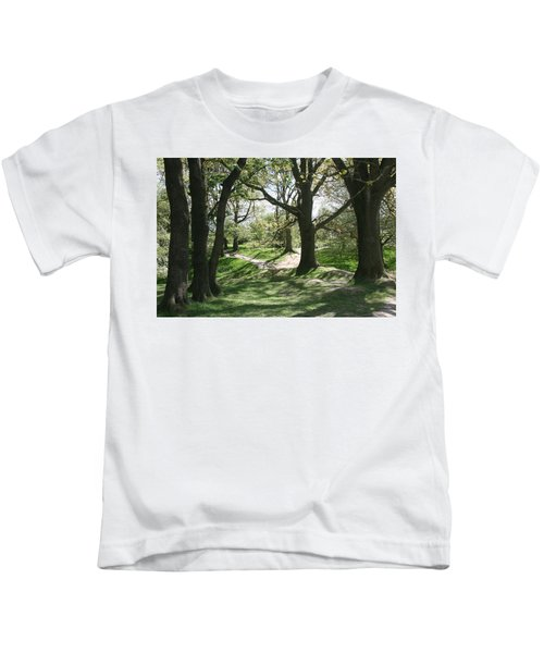 Hill 60 Cratered Landscape Kids T-Shirt