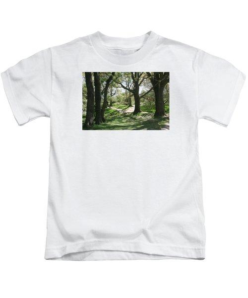 Hill 60 Cratered Landscape Kids T-Shirt