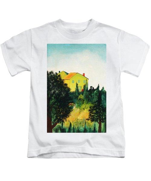 Hillside Romance Kids T-Shirt