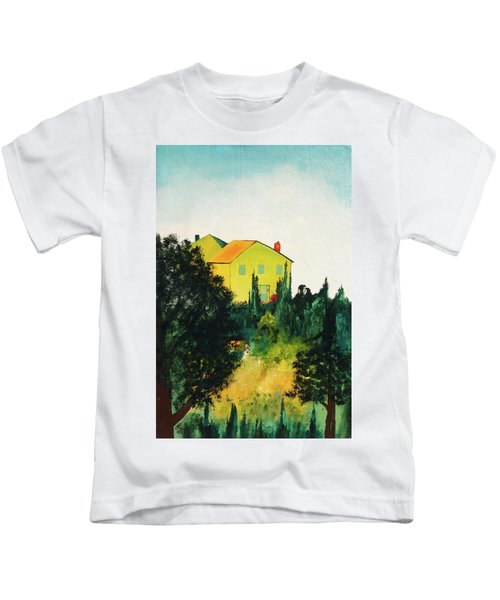 Hillside Romance Kids T-Shirt