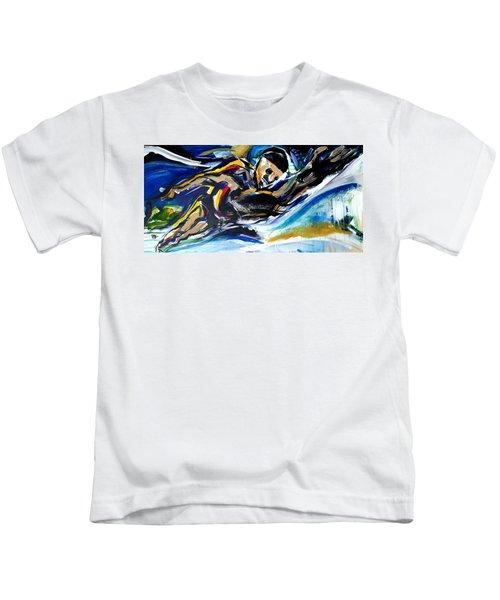 Him Swim Kids T-Shirt