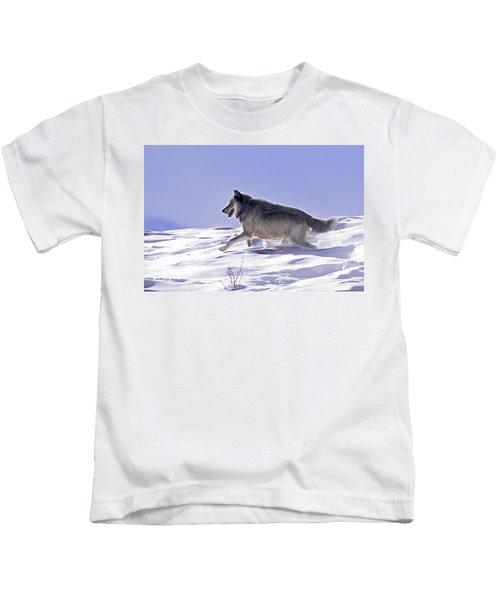 His Majesty Wolf 21m Kids T-Shirt