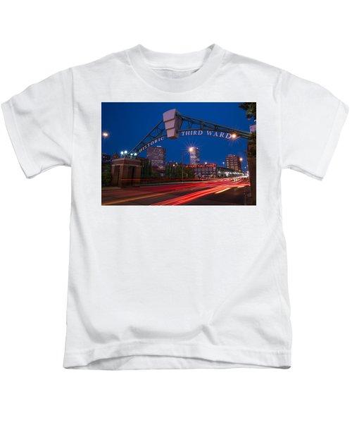 Historic Third Ward Milwaukee Kids T-Shirt