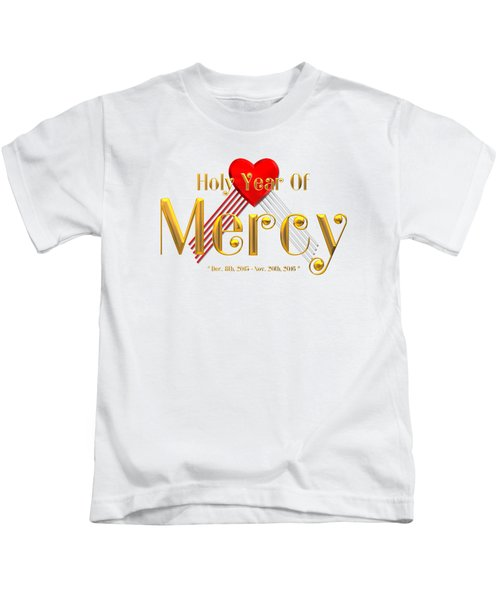 Holy Year Of Mercy Kids T-Shirt