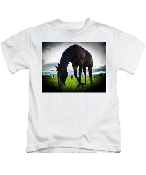 Horse Time Kids T-Shirt