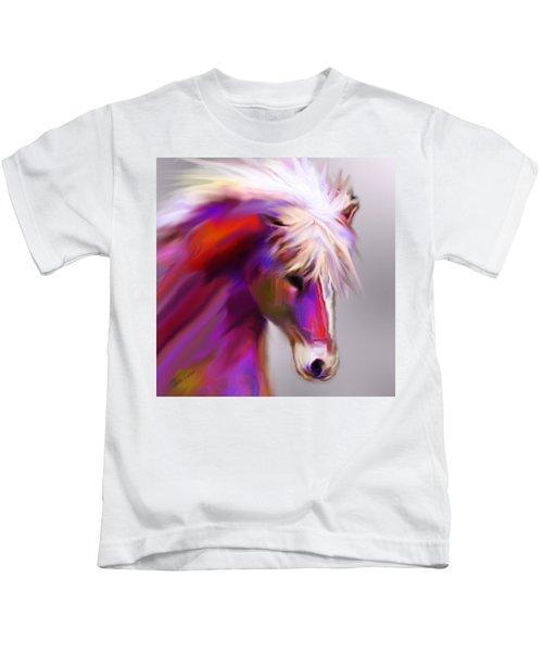 Horse True Colors Kids T-Shirt