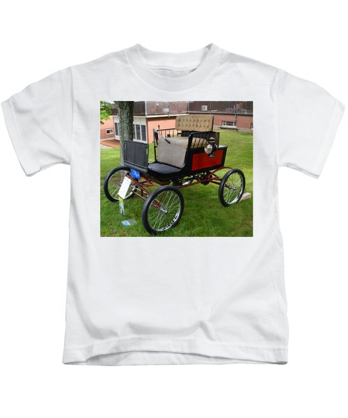 Horseless Carriage-c Kids T-Shirt