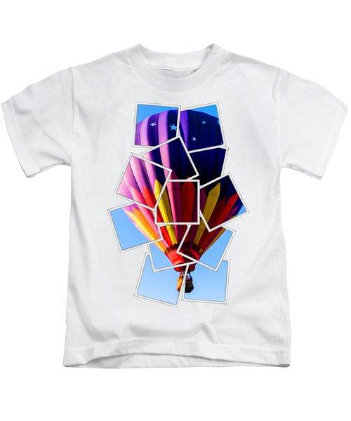 Hot Air Ballooning Tee Kids T-Shirt