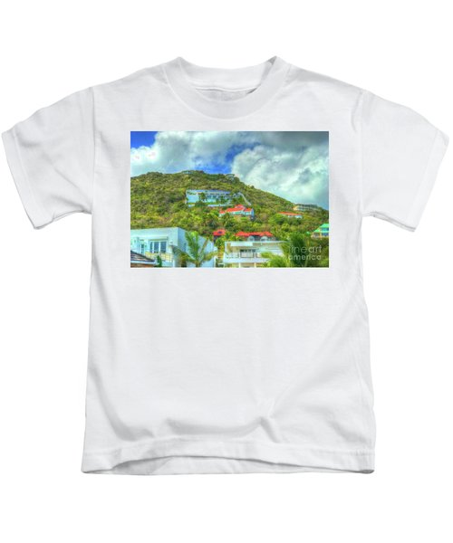 House On The Hill Kids T-Shirt