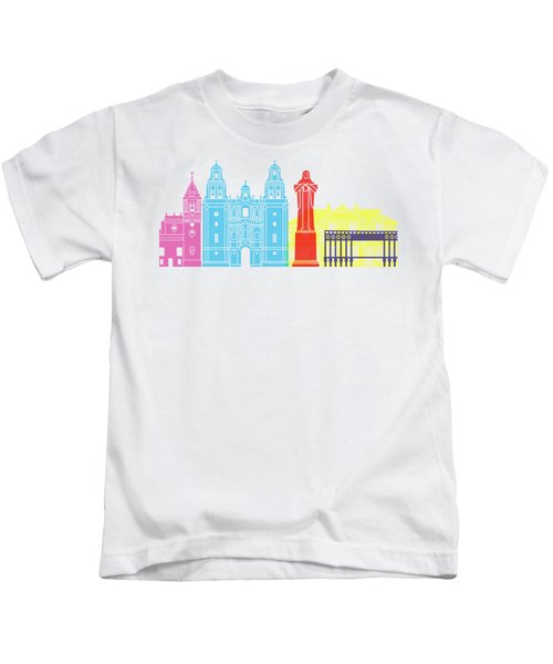 Huelva Skyline Pop Kids T-Shirt