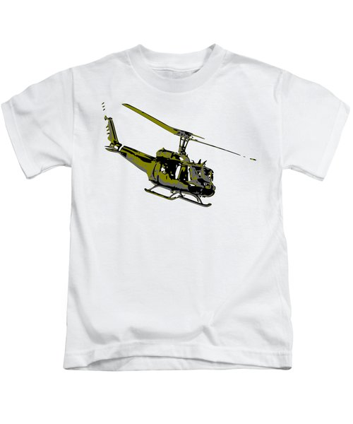 Huey Kids T-Shirt by Piotr Dulski