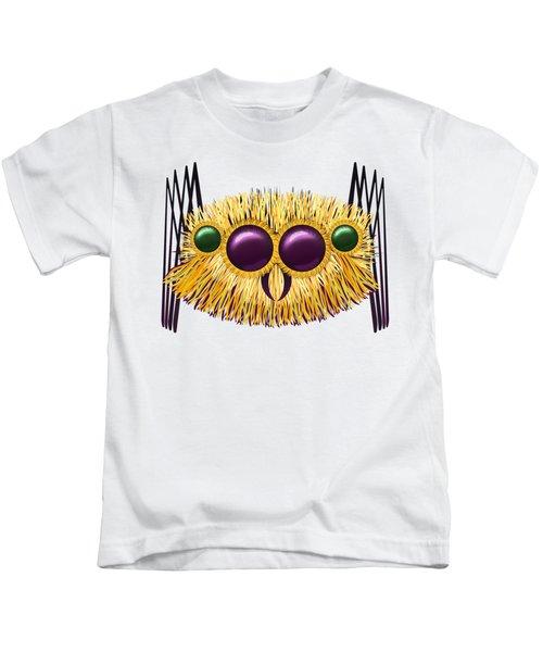 Huge Hairy Spider Kids T-Shirt by Michal Boubin