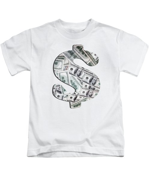 Hundred Dollar Bills Kids T-Shirt
