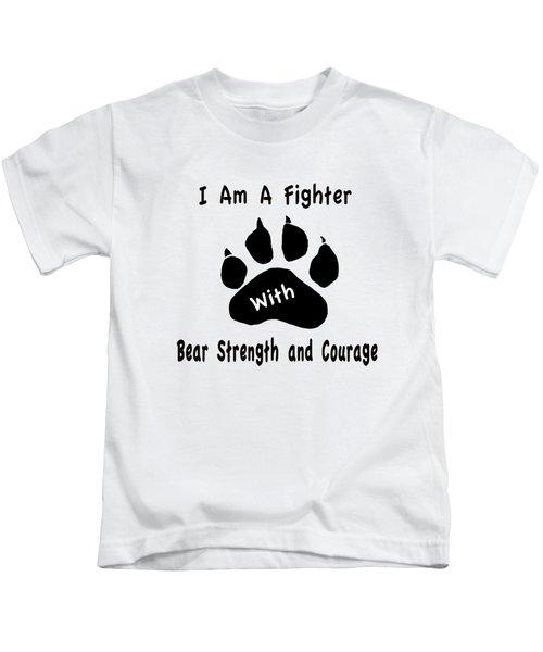 I Am A Fighter Kids T-Shirt