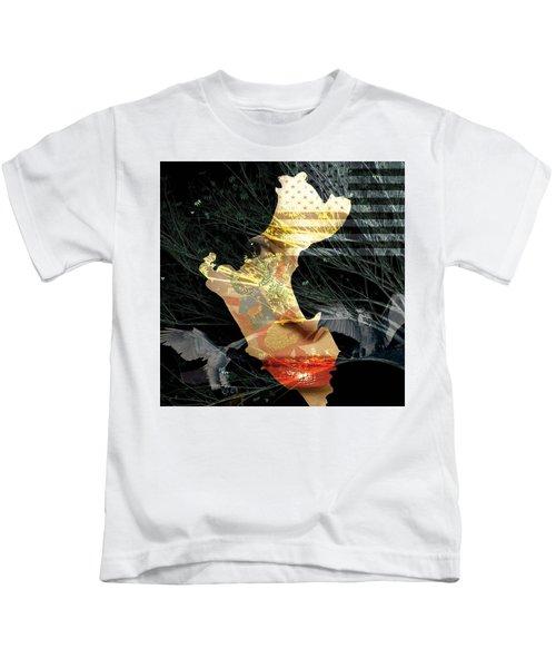 I Am An American Kids T-Shirt