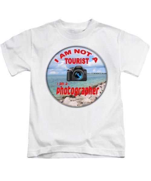 I Am Not A Tourist Kids T-Shirt