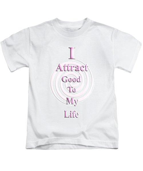 I Attract Pink Kids T-Shirt