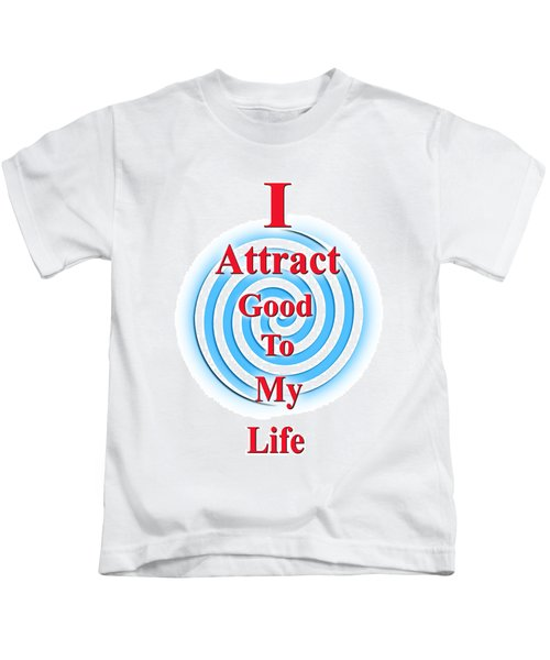I Attract Red White Blue Kids T-Shirt