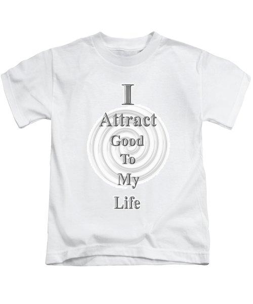 I Attract Silver Kids T-Shirt