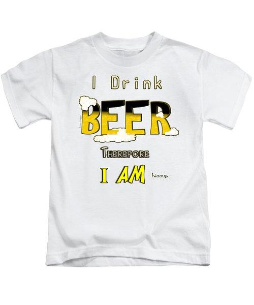 I Drink Beer Kids T-Shirt