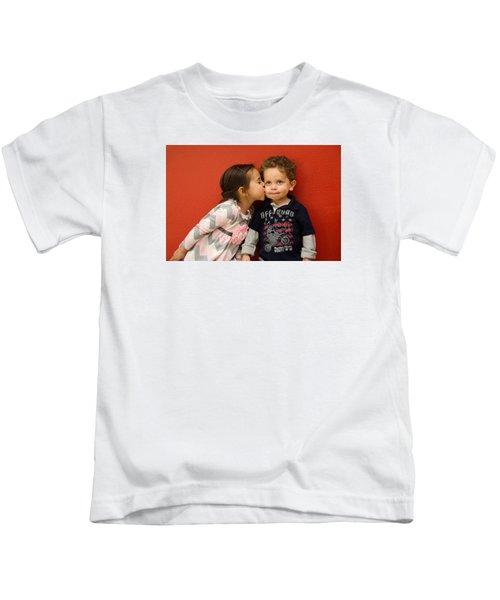 I Give You A Kiss Kids T-Shirt