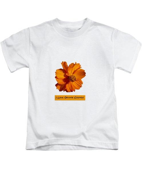 I Love Orange Cosmos 2018-1 Kids T-Shirt