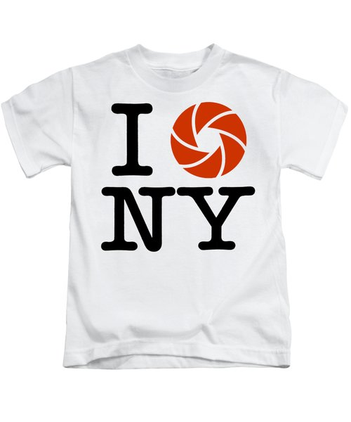 I Photograph Ny Kids T-Shirt