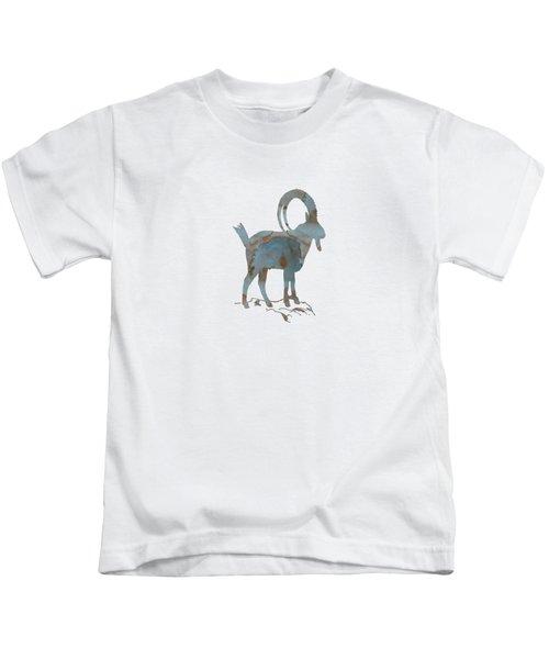 Ibex Kids T-Shirt by Mordax Furittus
