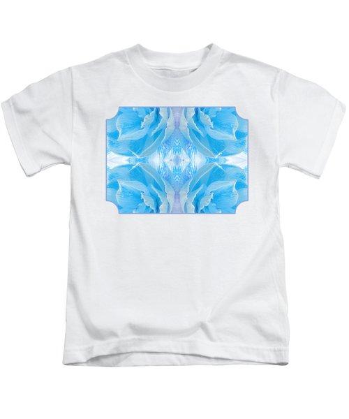Ice Cool Blue Kids T-Shirt