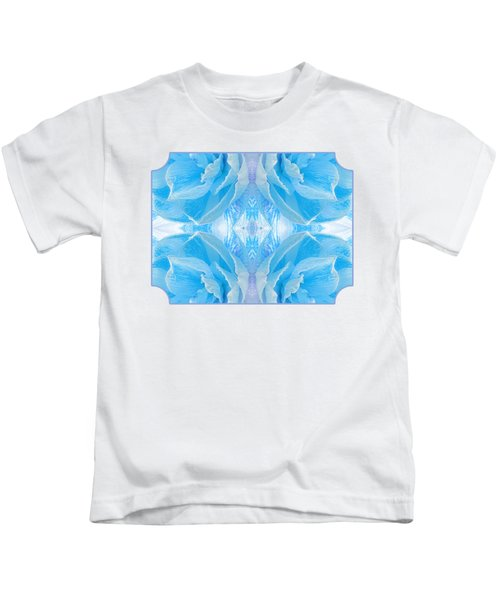 Ice Cool Blue Kids T-Shirt