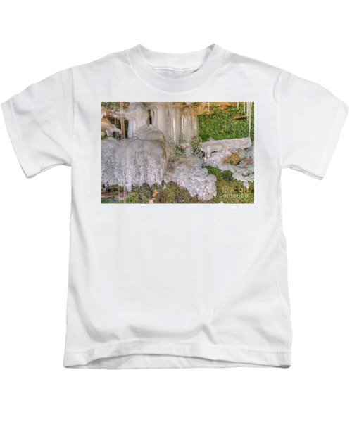 Ice Formations Kids T-Shirt