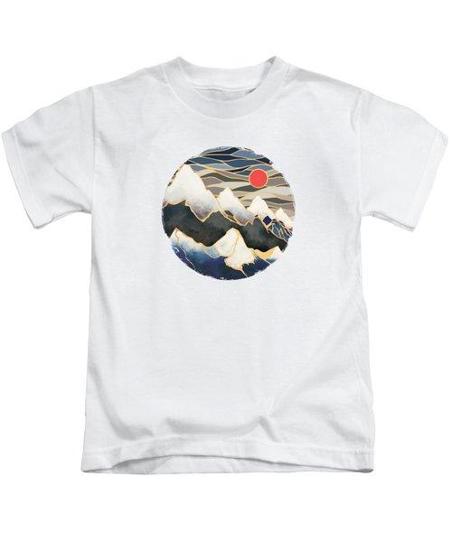 Ice Mountains Kids T-Shirt